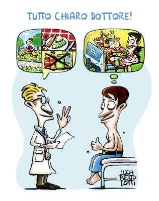 Tutto chiaro dottore - Vignette sulla salute