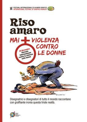Copertina 14° Festival Internazionale Humor Grafico. Disegno di Marilena Nardi | www.festivalhumorgrafico.eu