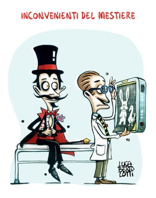 Inconvenienti del mestiere - Vignette sulla salute