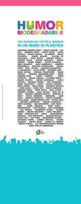 Pannello espositivo autori Humor Biodegradabile | cm 80x200