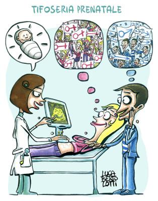 Tifoseria prenatale - Vignette sulla salute