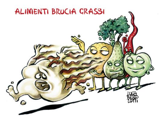 Alimentazione e salute a tavola: Alimenti bruciagrassi