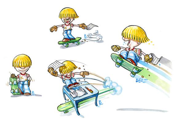 Brividi sullo skate
