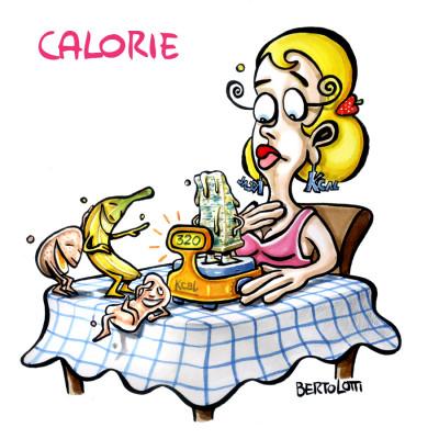 Alimentazione e salute a tavola: Calorie