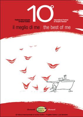 Catalogo Il meglio di me | 10° Festival Internazionale di Humor Grafico <br>Illustrazione di Yayo