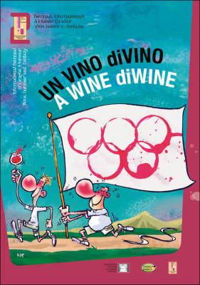 Catalogo Vino humor e fantasia | 2° Biennale Internazionale di Humor Grafico Vino umor e fantasia. Illustrazione di Kap.