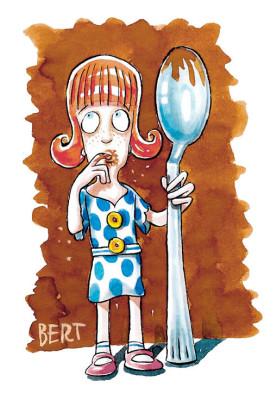 Cioccolato - Illustrazione per Erasmo - Quotidiano per bambini