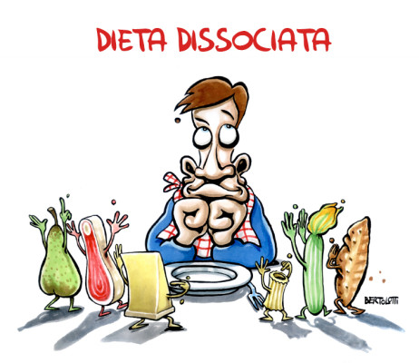 Alimentazione e salute a tavola: Dieta dissociata