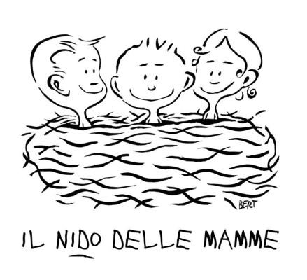 Il Nido delle Mamme - Logo per l'asilo Il Nido delle Mamme