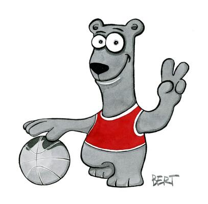 Simbolo squadra di basket