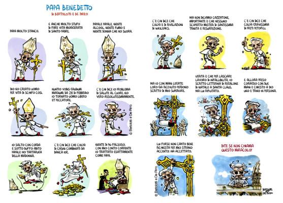 Papa Benedetto - Per Linus di Marzo 2013
