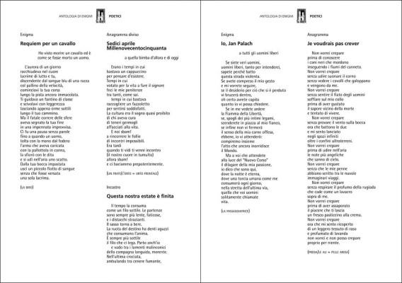 Poetici (2 di 2) | Alcuni giochi Poetici di Ser Berto tratti dall'antologia