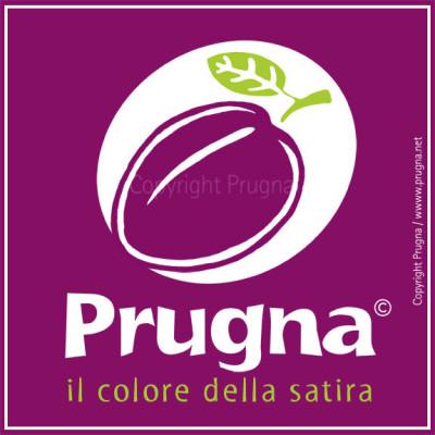 Progetto del marchio Prugna<br/>Logo realizzato per la rivista satirica Prugna: https://facebook.com/ilcoloredellasatira<br/> https://twitter.com/opificioprugna<br/> http://instagram.com/opificioprugna<br/> www.prugna.net
