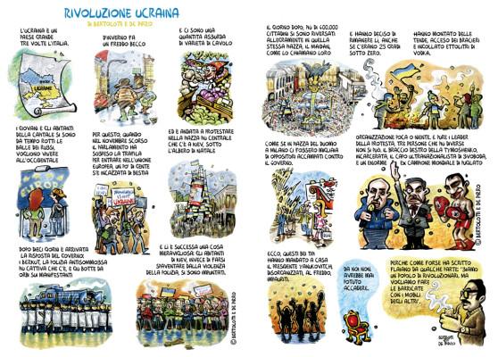 Rivoluzione Ucraina - Per Linus di Marzo 2014