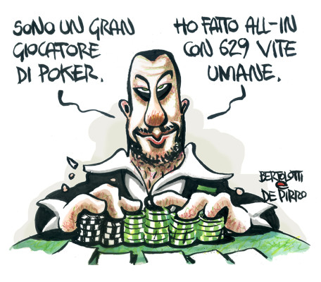 Salvini poker migranti
