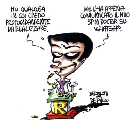 Spin doctor Renzi