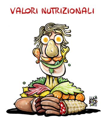 Alimentazione e salute a tavola: Valori nutrizionali